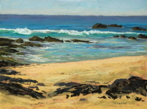 Kua Bay Beach   12x16  Pastel